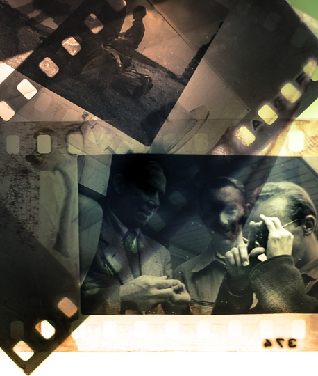We develop your analog reels, color, dia and black and white