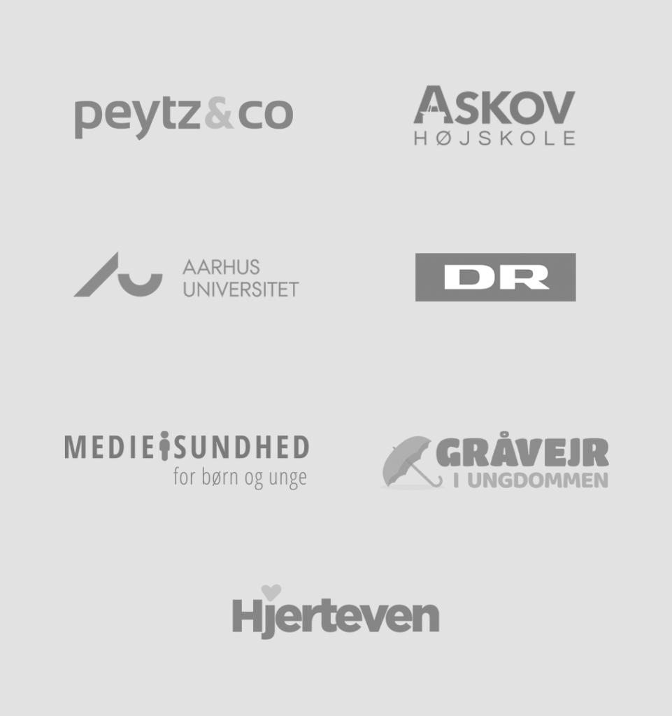 Mine kunders logoer