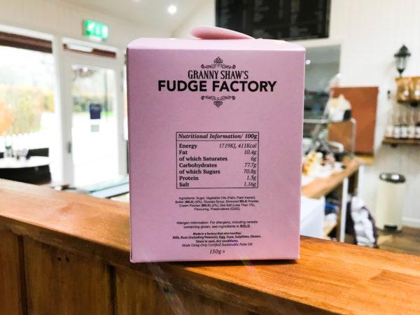 Sea Salt Fudge - Granny Shaws Fudge