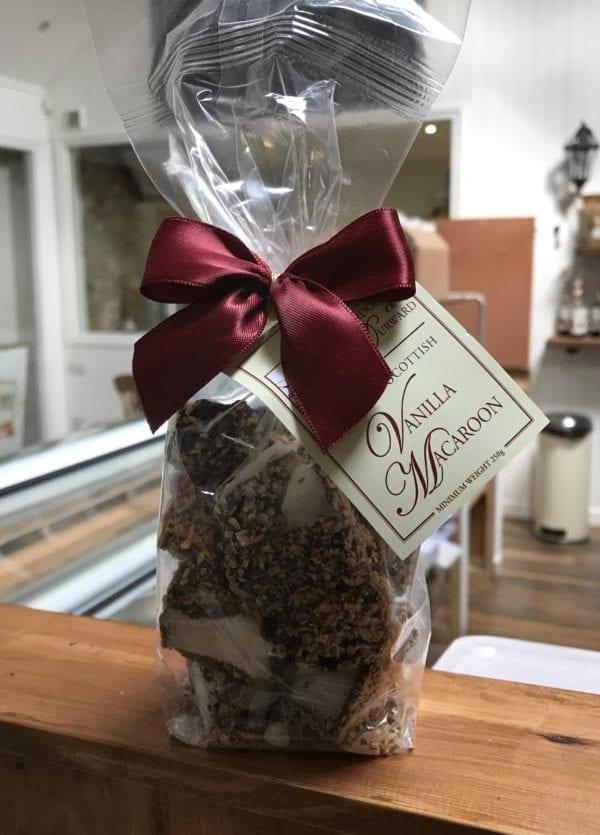 Scottish Vanilla Macaroon - Granny Shaws Fudge