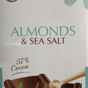 Almonds & Sea Salt Dark Chocolate - Granny Shaws Fudge