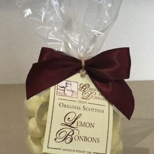 Lemon Flavoured Bon Bons - Granny Shaws Fudge