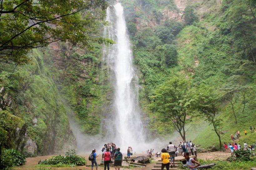 Wli Falls in Volta Region, Ghana Africa | Grassroot Tours