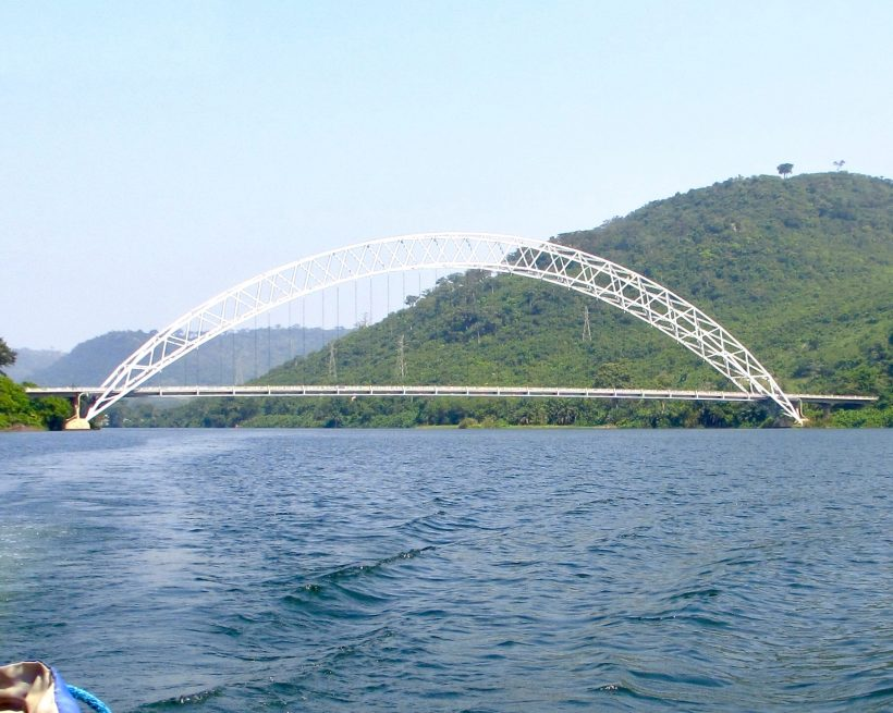 Lake Volta Adome Bridge-grassroottours.com