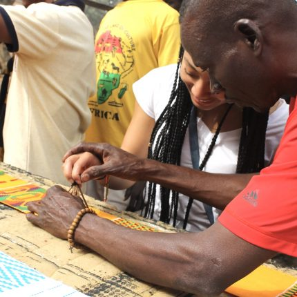 Adinkra village Atonso-grassroottours.com