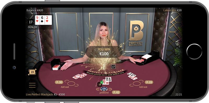 Spela blackjack i svenska casinorum på mobilen