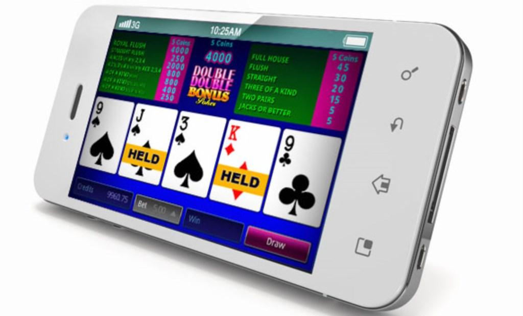 Spela videopoker på mobilen