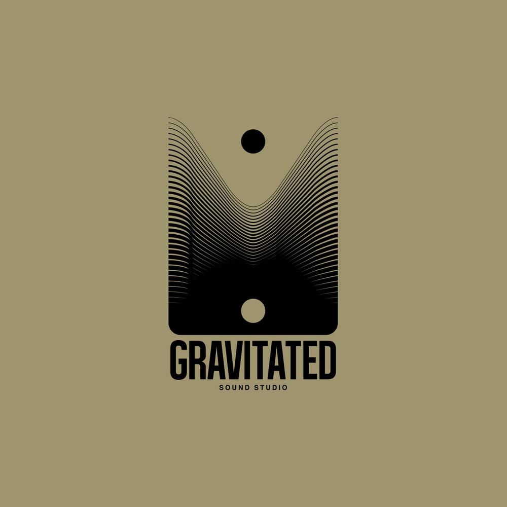 gravitated black over gold
