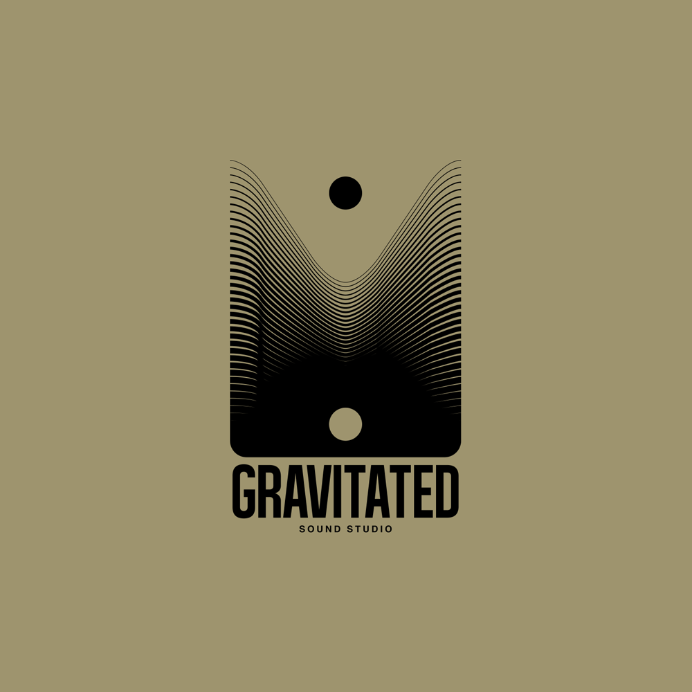gravitated black over gold