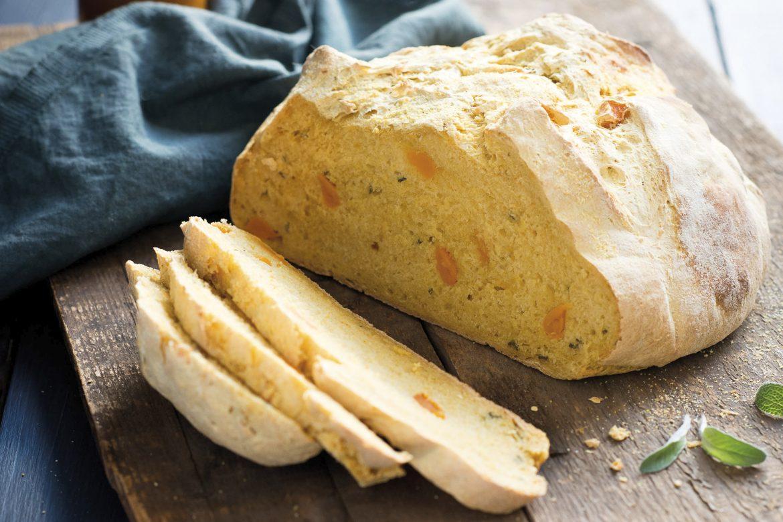 Kürbis-Salbei-Brot