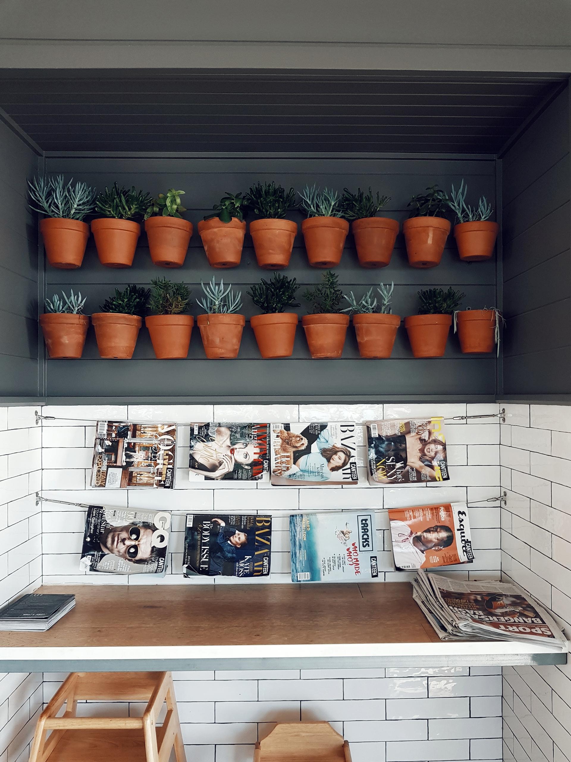 Eine schöne und originelle Methode, deine Zeitschriftensammlung übersichtlich zu halten