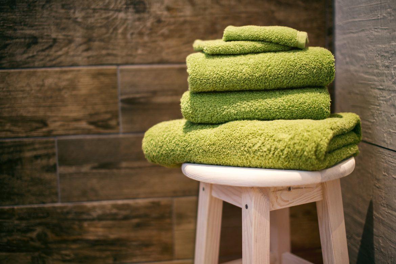 Wie viele Handtücher brauchst du zum Abtrocknen?