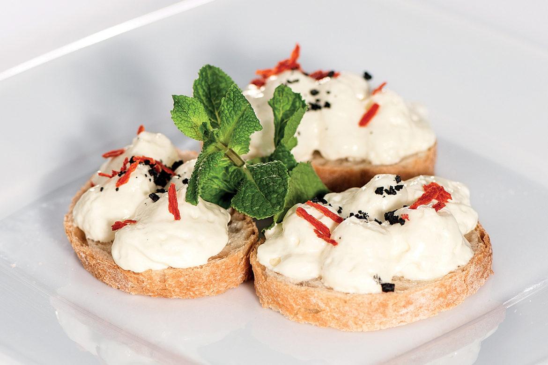 Pikanter Minz-Schafsjoghurt