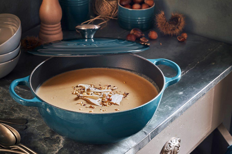 Steinpilz-Maronen-Suppe