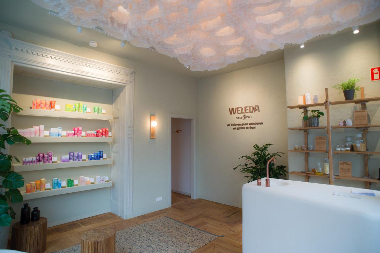 Weleda eröffnet drei City Spas in den Niederlanden
