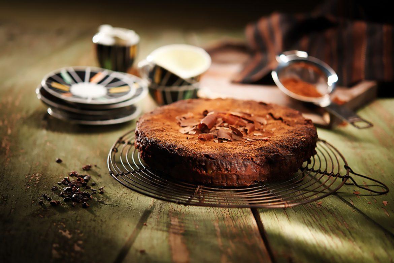Brownie-Kuchen aus dem Schnellkochtopf