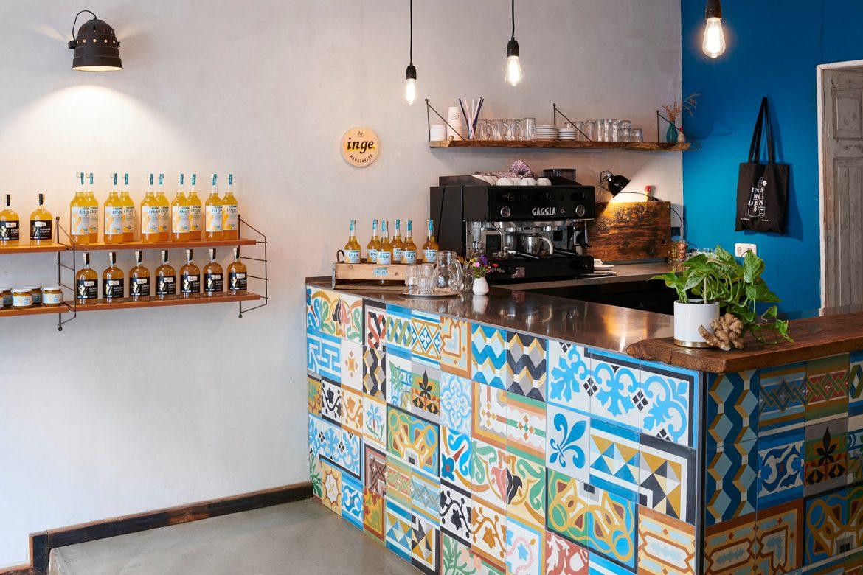 Besuch im Inge Ladencafé