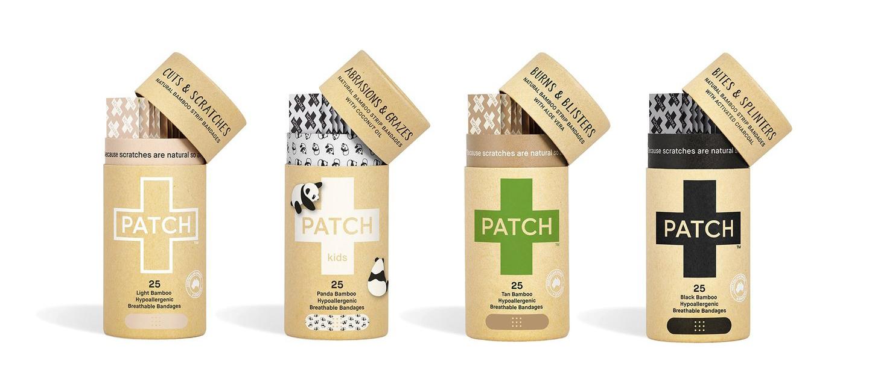 PATCH - das Pflaster auf natürlicher Bambusbasis mit aktiven Wirkstoffen