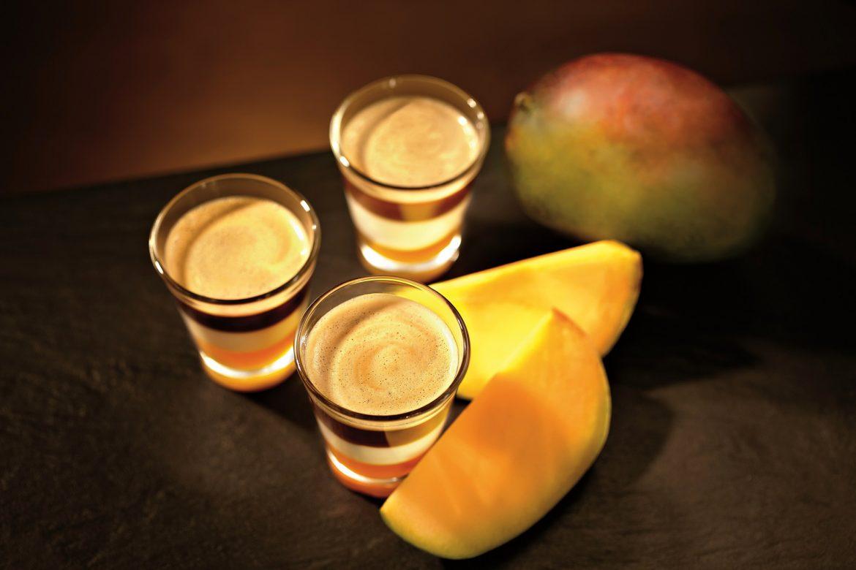 Kaffee-Mango-Lassi