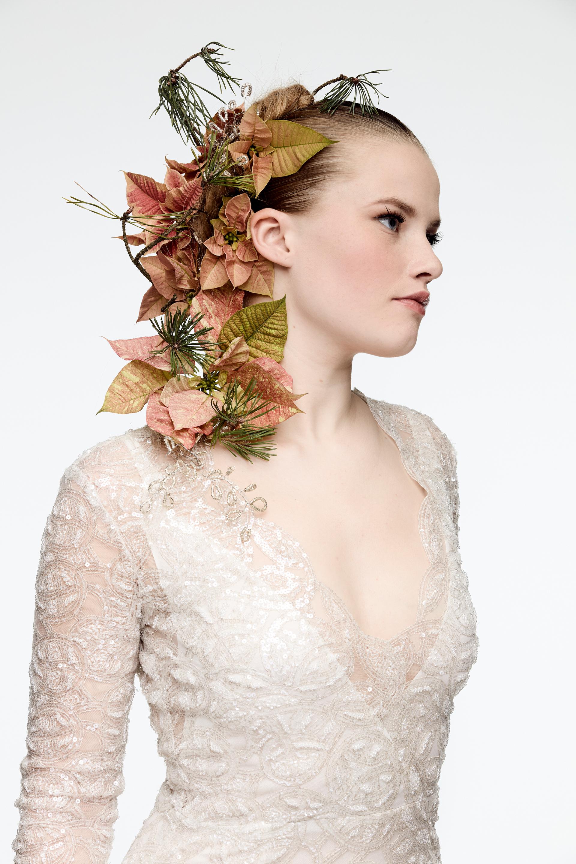 Elfenhafte Brautfrisur