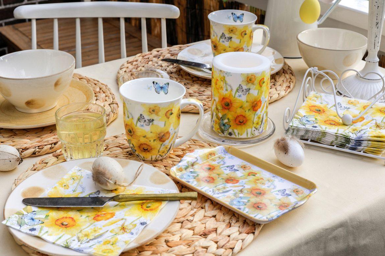 Tafeldekor mit Narzissen: Classic Daffodils