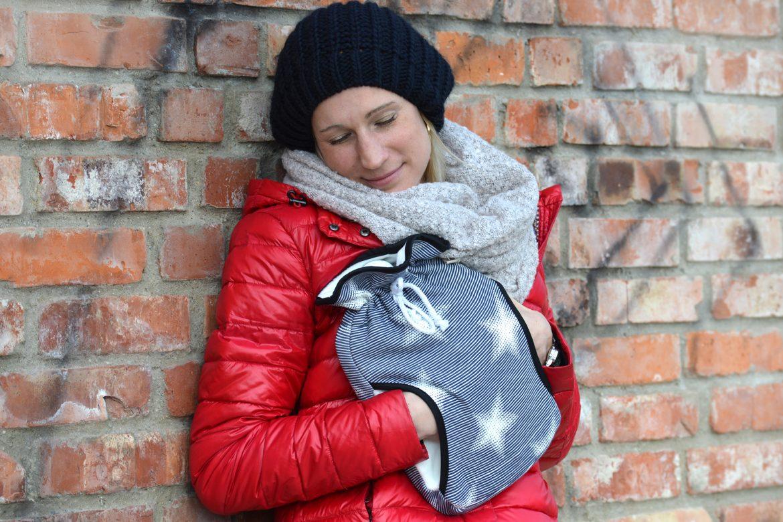 Öko-Wärmflasche »Muff« im Sterne-Design