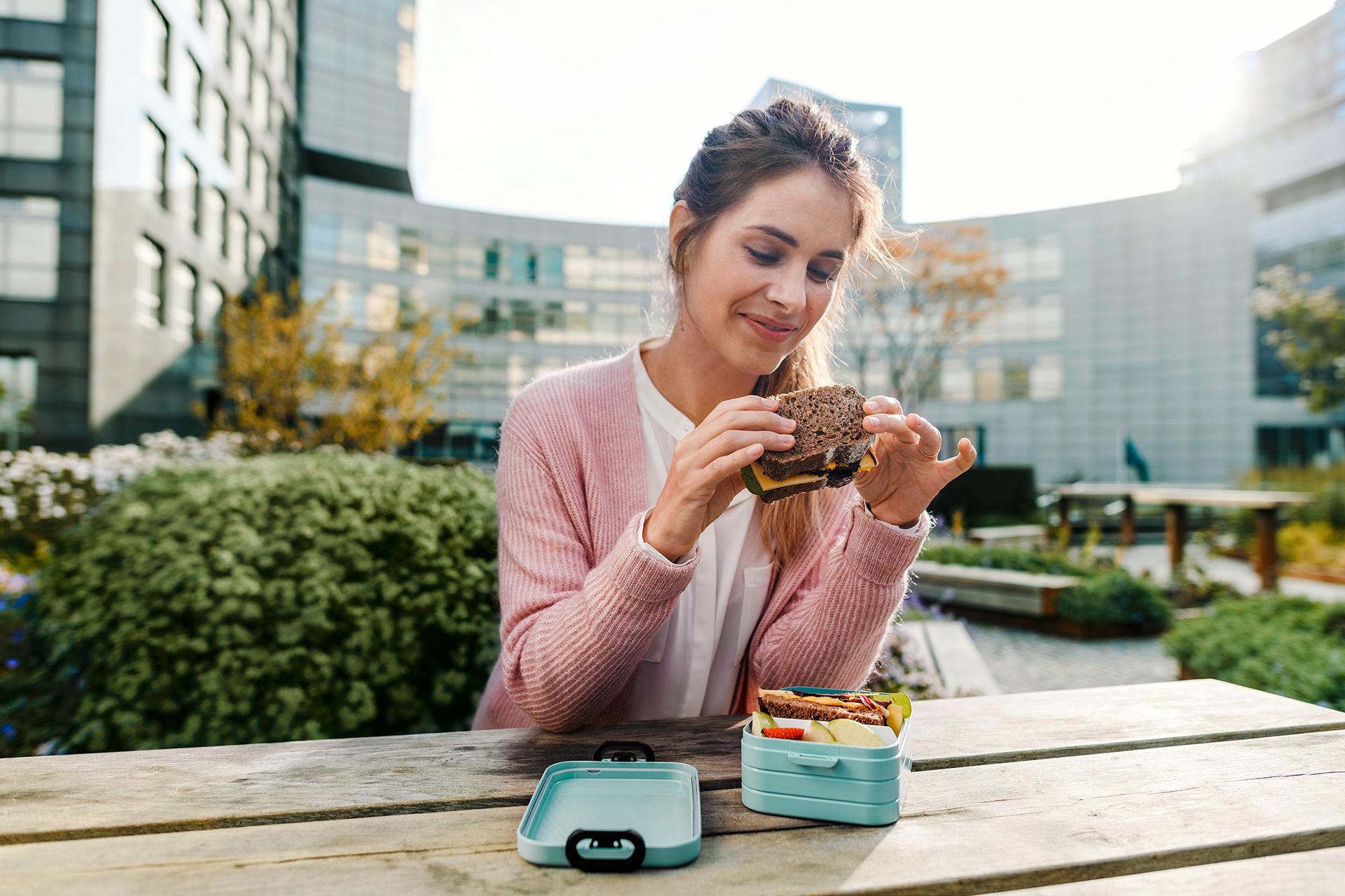 Die Bento Lunchbox Take a Break ist BPA-frei - so schmeckt das Mittagessen!