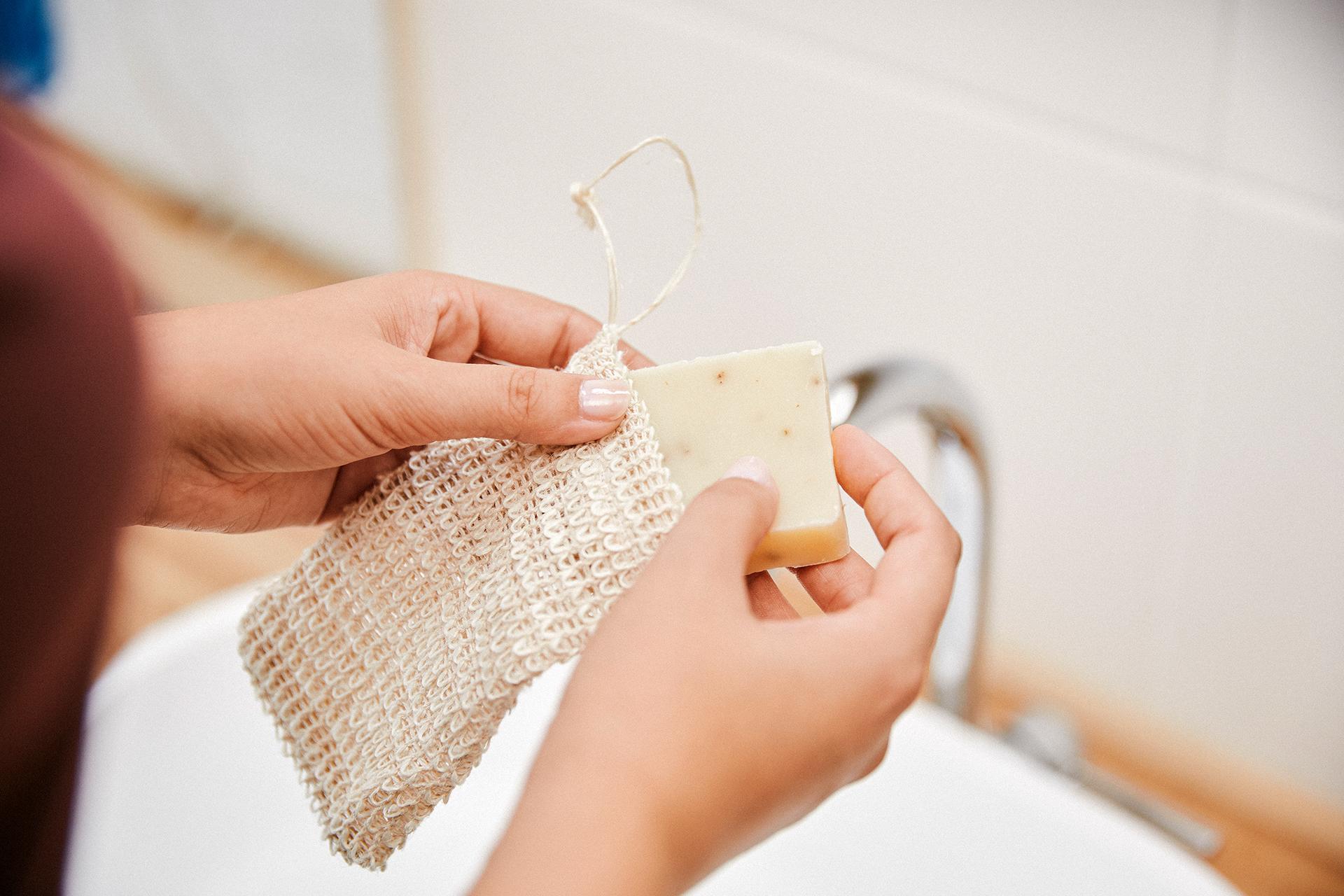 Das praktische Seifensäckchen gibt es auch einzeln zu kaufen