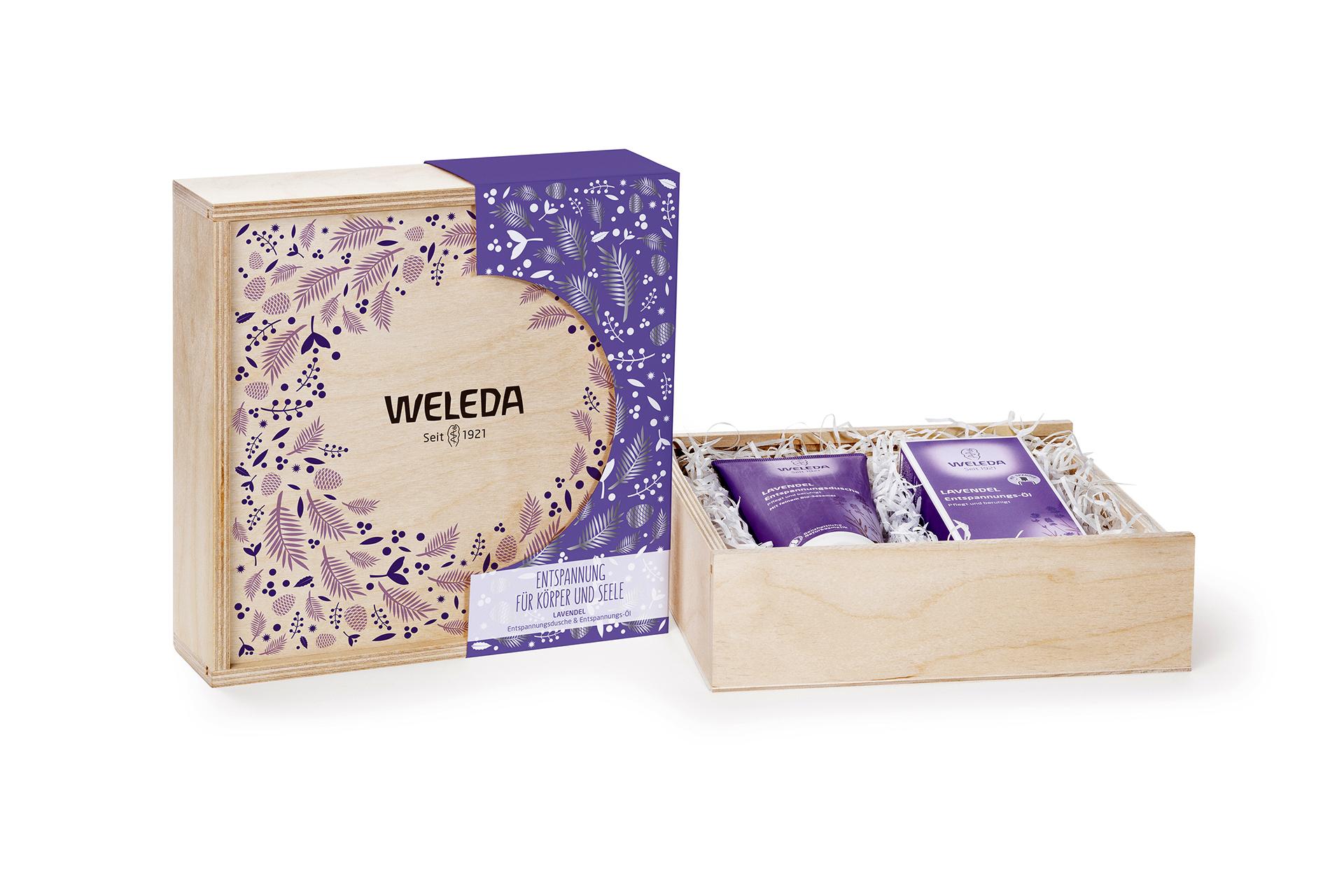 Weleda Lavendel Geschenkset