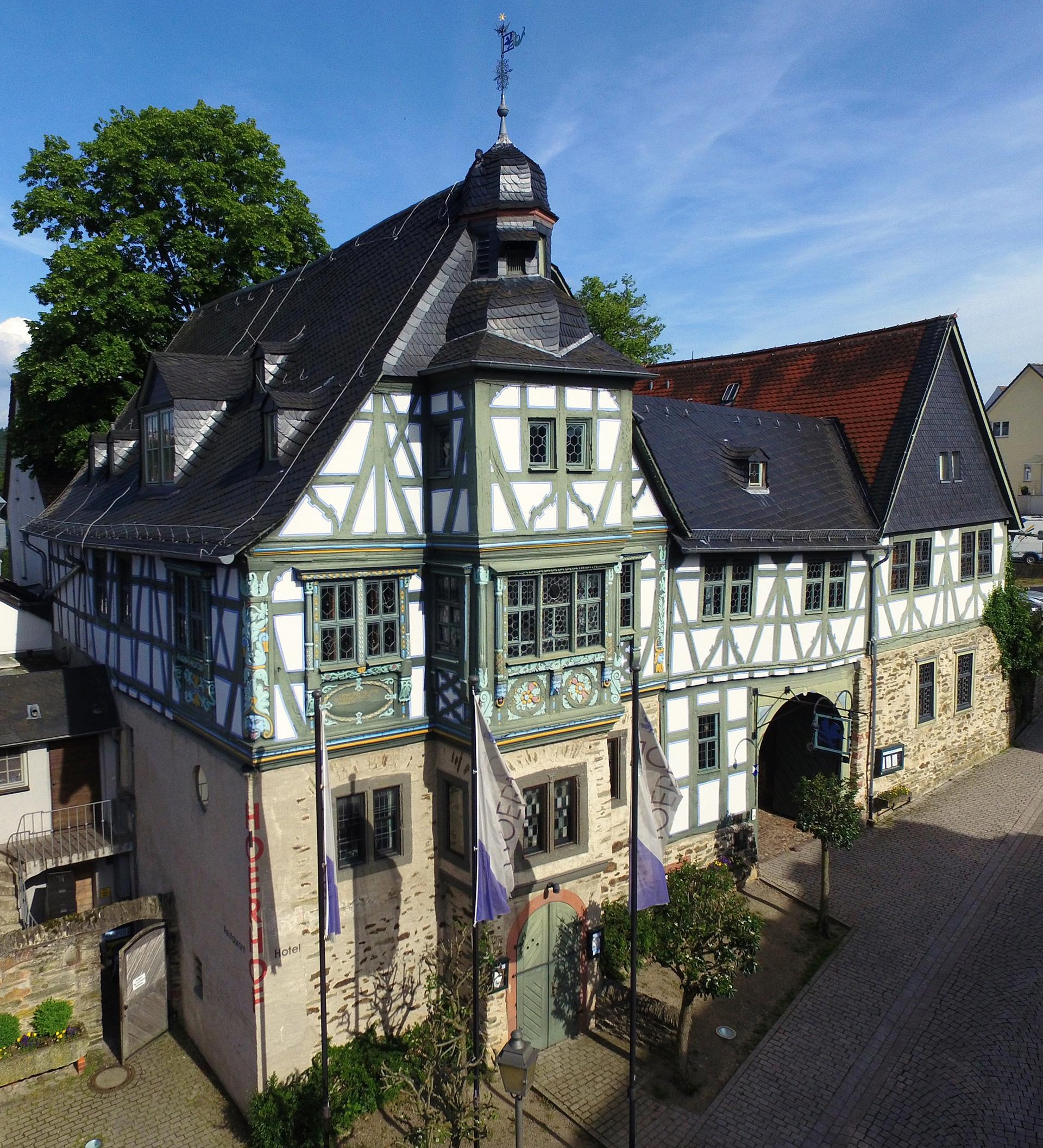 Steinerner Zeitzeuge: der Höerhof in Idstein