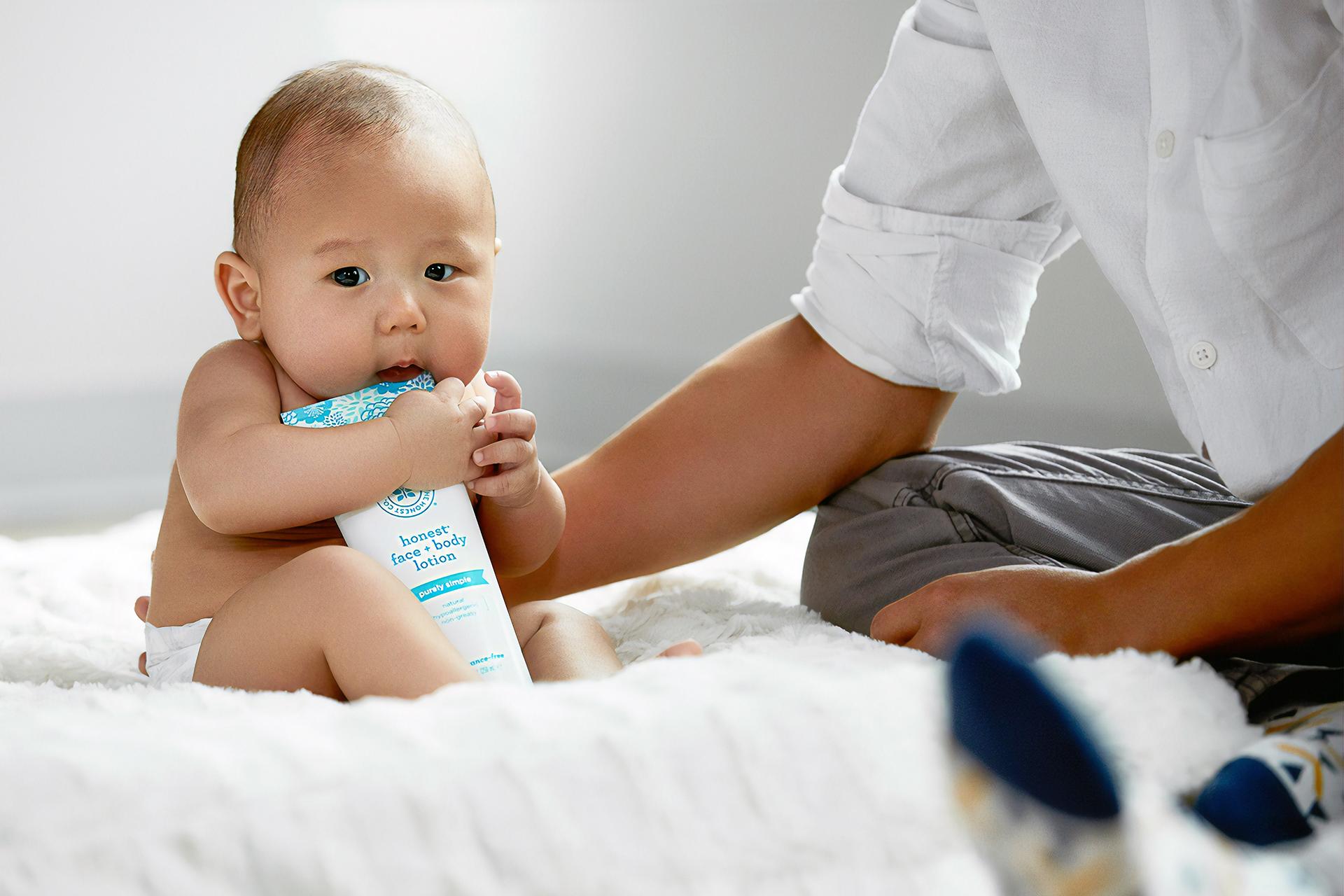 Auch für die Kleinsten liegt Clean Beauty im Trend