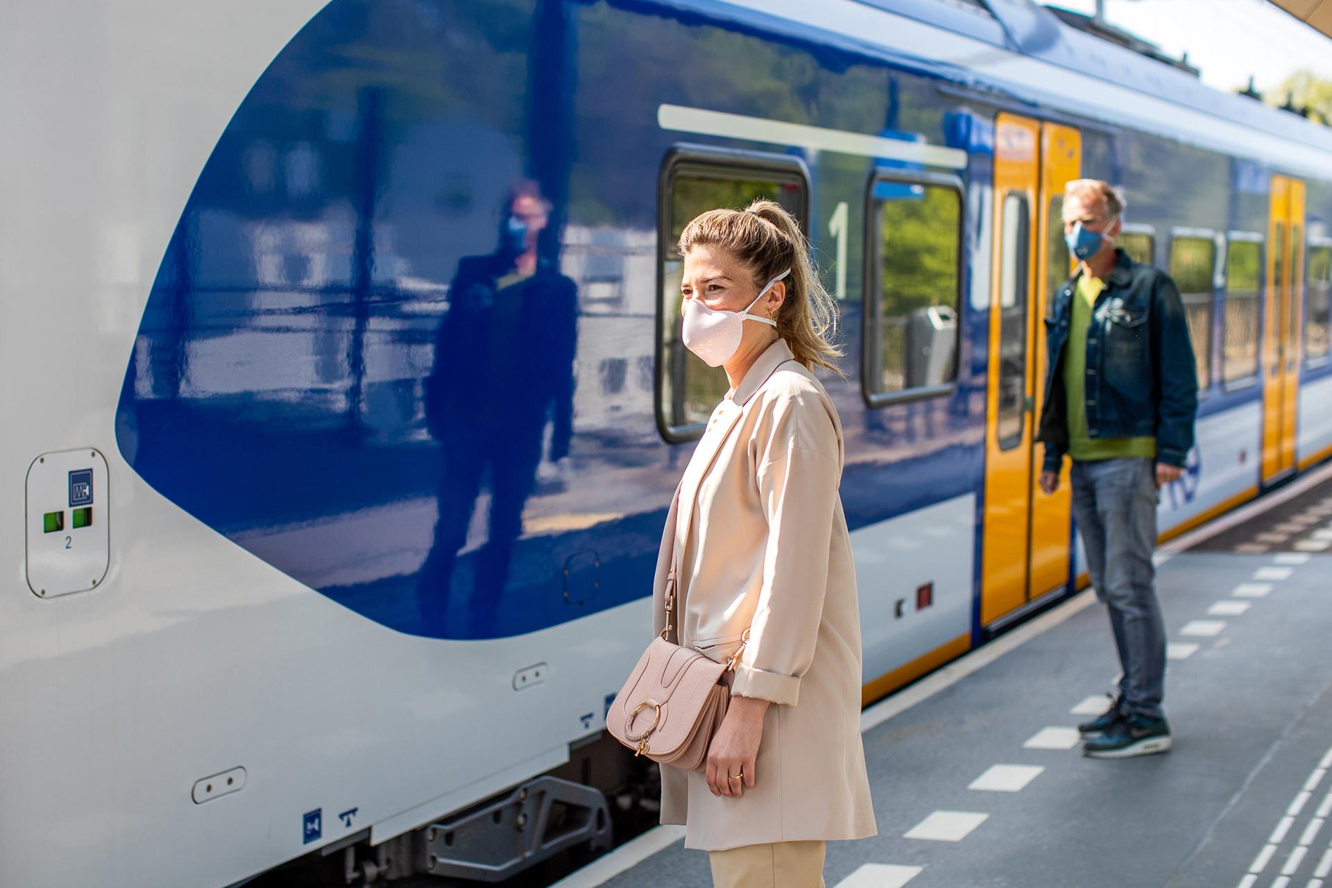 Die Maskenpflicht gilt in ganz Deutschland im Nahverkehr
