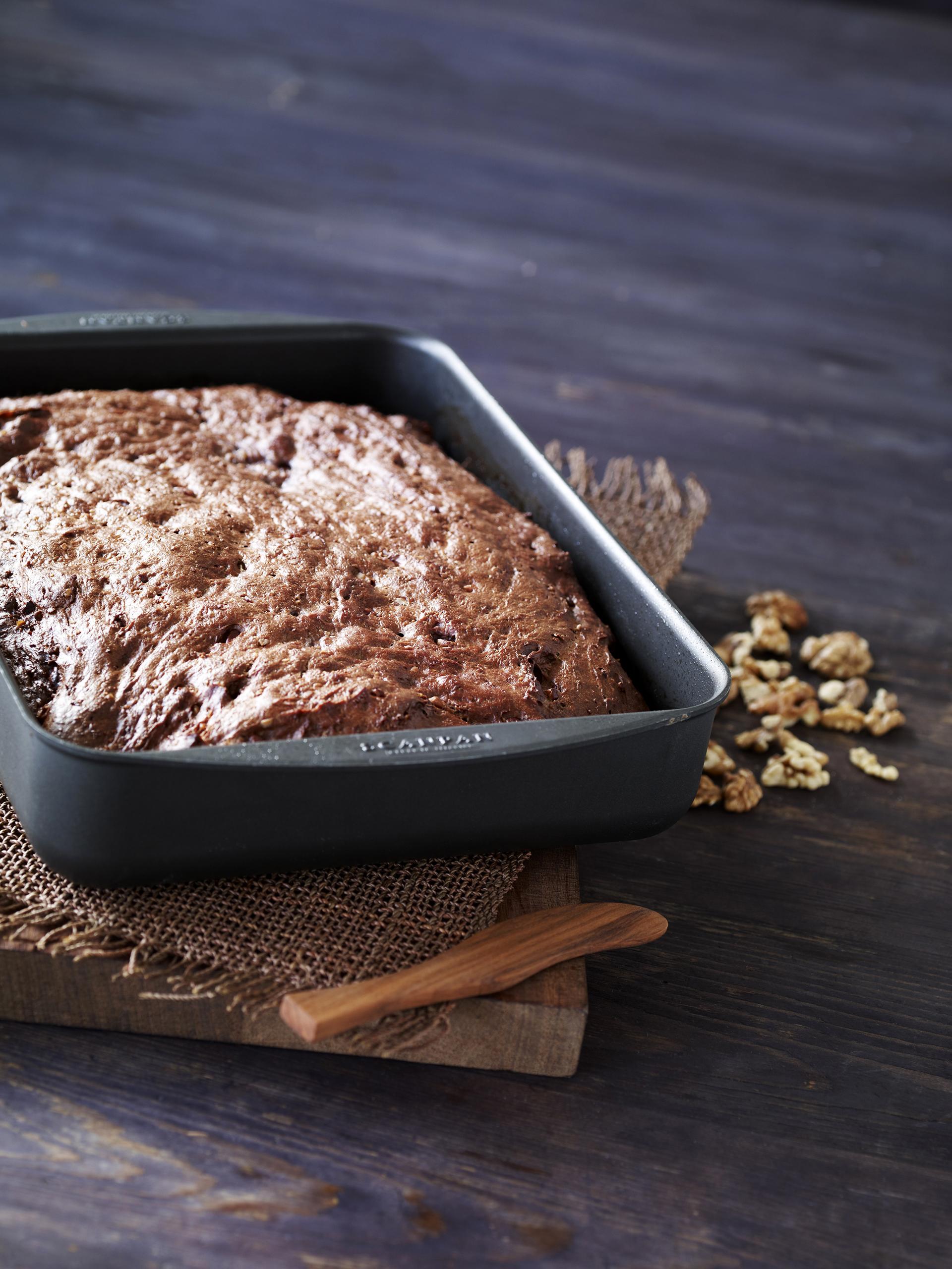 Himmlisches Brot mit Pekannüssen schmeckt nicht nur sonntags!