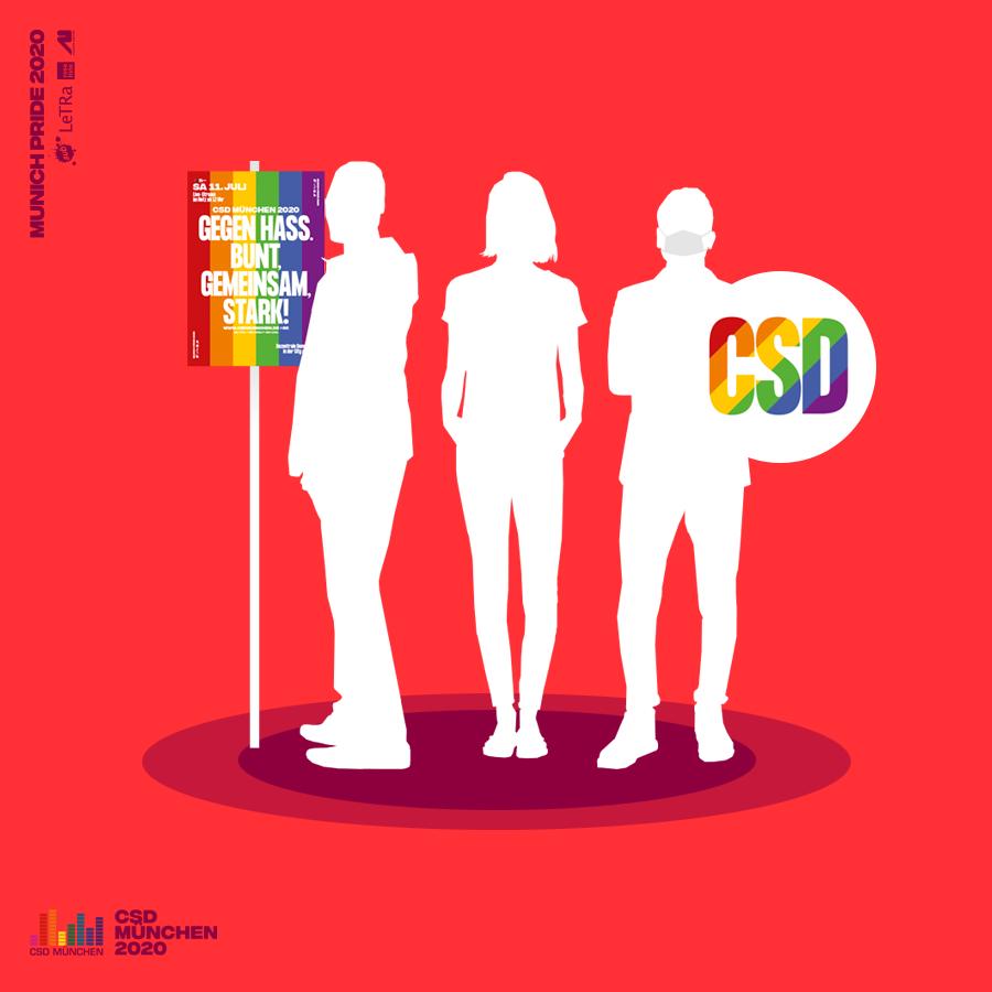 Mitmachaktion: CSD-Demo-Spots