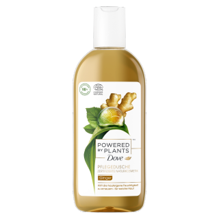 Dove »Powered by Plants« Pflegedusche Ginger