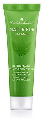 NATUR PUR BALANCE Detox-Maske Süßgras-Grüner Tee