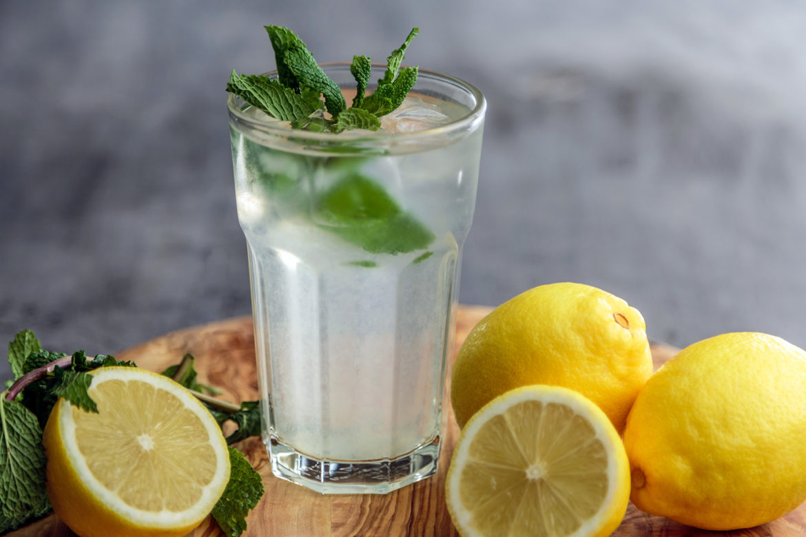 Old-fashioned Lemonade – Altmodische Zitronenlimonade