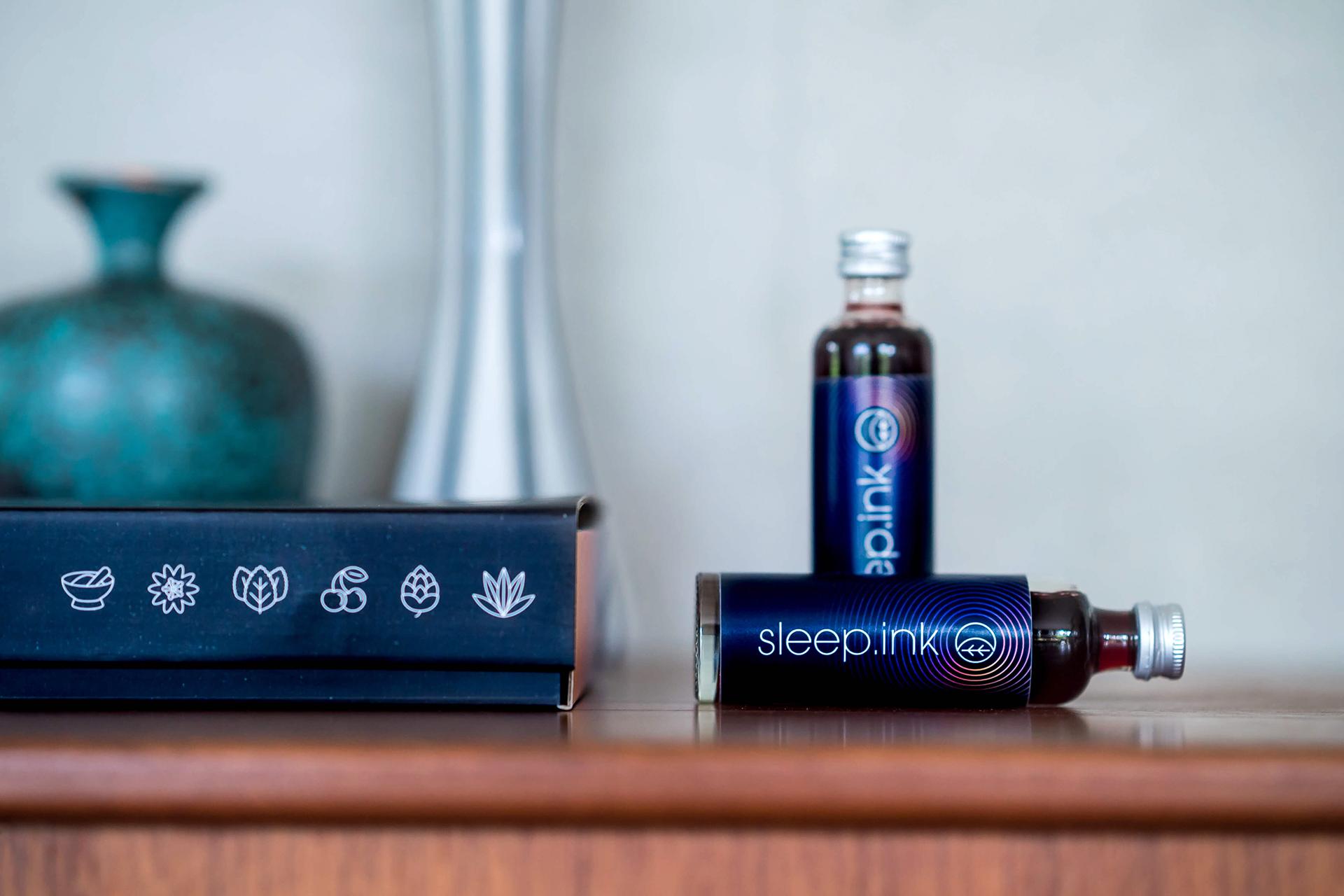 Jedes Portionsfläschchen enthält 40 Milliliter Schlafdrink