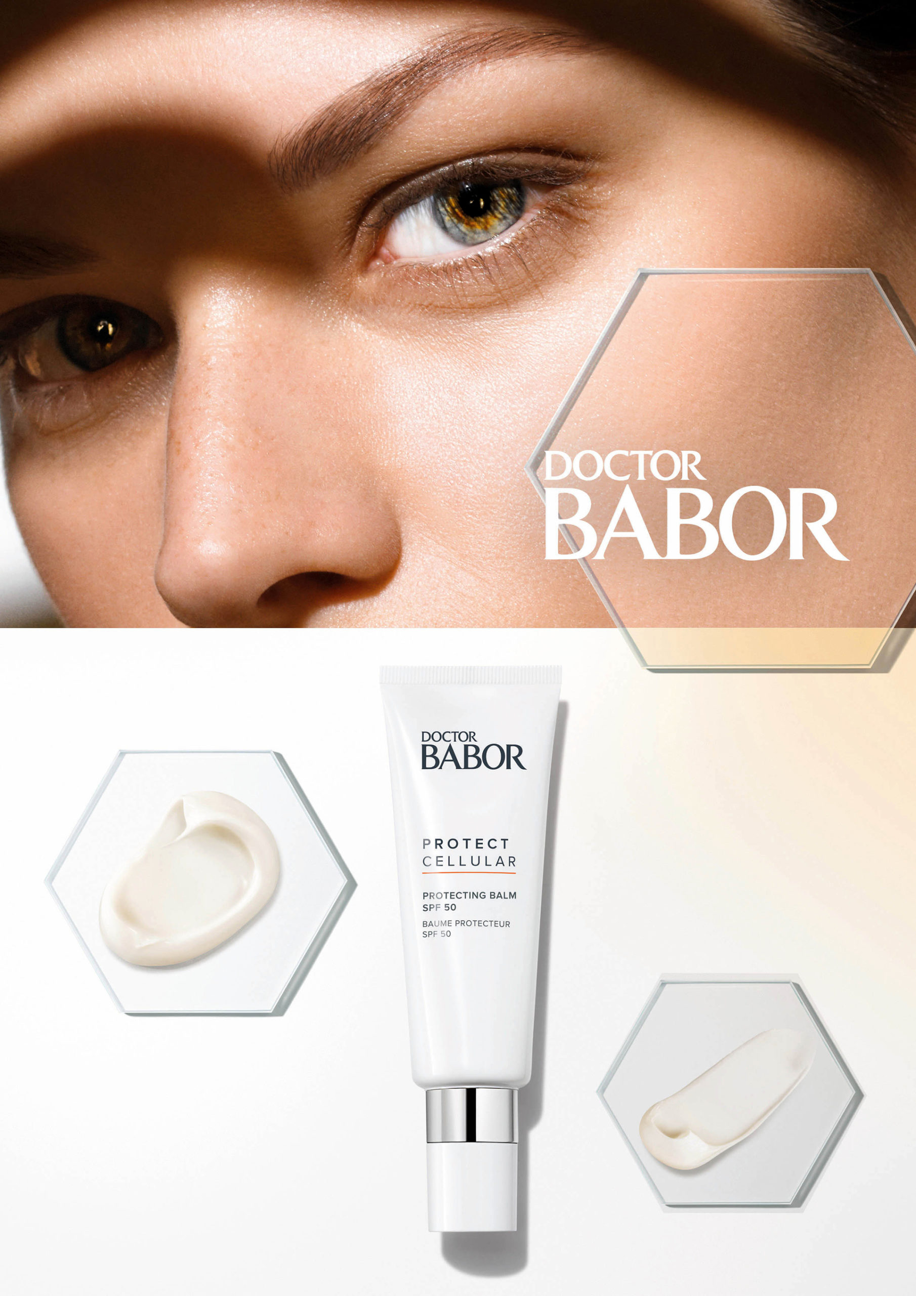 Sonnenpflege mit Extra-Performance – DOCTOR BABOR PROTECT CELLULAR