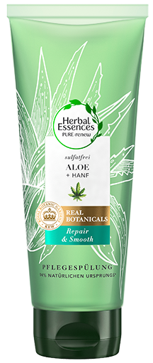 Herbal Essences PURE:renew Aloe + Hanf Repair & Smooth Pflegespülung