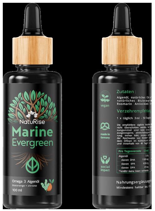 Omega-3-Algenöl NatuRise Marine Evergreen