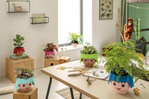 Kleine Pflanzenfreunde freuen sich über eine ganze OJO-Familie