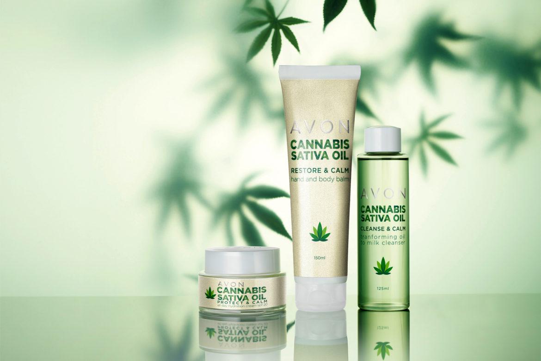 AVON – Schöne Haut mit Hanföl und der Pflegelinie Cannabis Sativa Oil
