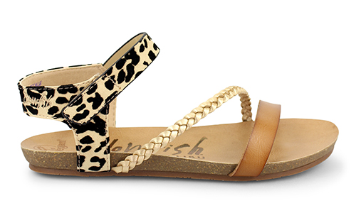 Blowfish Malibu Sandale »Goya« im Animal-Print