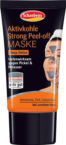 Schaebens Aktivkohle Strong Peel-off Maske