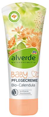 alverde NATURKOSMETIK Baby Pflegecreme Bio-Calendula