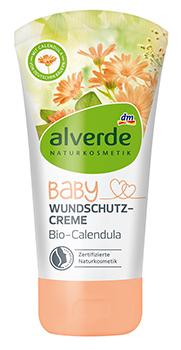alverde NATURKOSMETIK Baby Wundschutzcreme Bio-Calendula