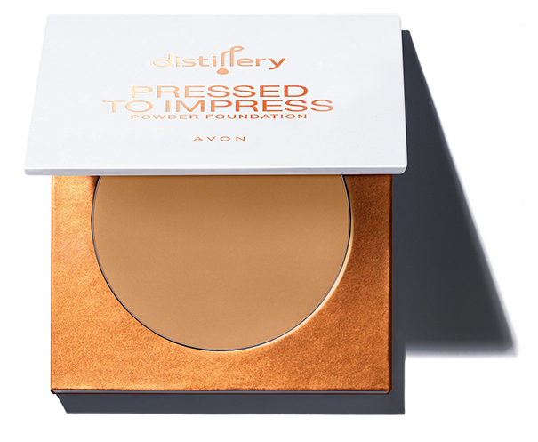 AVON Distillery PRESSED TO IMPRESS Puder-Foundation N°115