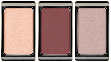 JEAN D'ARCEL eye shadow golden rose No. 33, No. 34 und No. 04