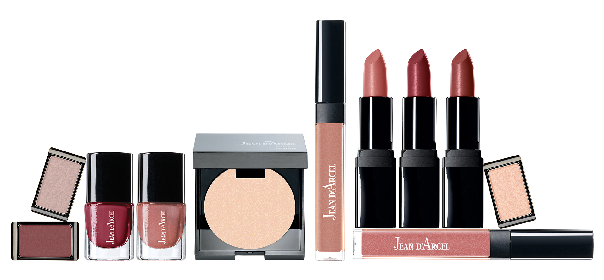 JEAN D'ARCEL NEW MAKE UP EDITION »Natural Rose«